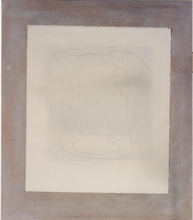 Ben NICHOLSON - Drawing-Watercolor - Two or Free Forms