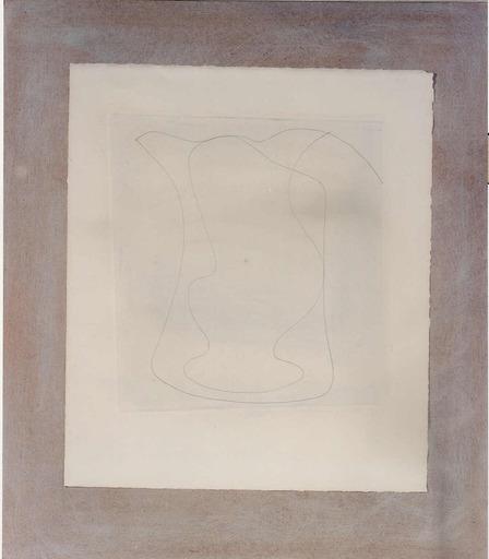 Ben NICHOLSON - Disegno Acquarello - Two or Free Forms