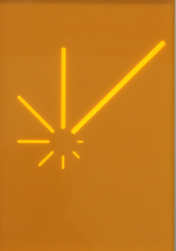 Hellmut BRUCH - Pintura - Strahlungdoppelprogression