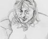 Lucian FREUD - Estampe-Multiple - Head and Shoulders