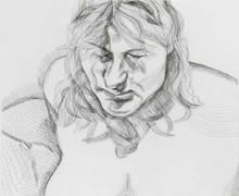 卢西安·弗洛伊德 - 版画 - Head and Shoulders