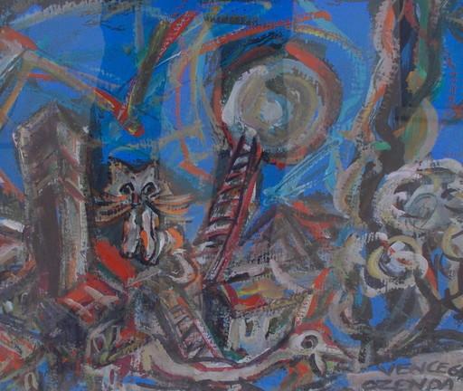 François OZENDA - Pintura - Vence