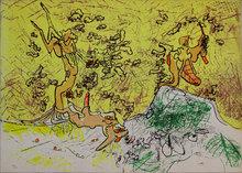 罗贝托•马塔 - 版画 - Untitled from 'Esoterica: haec fabula proponitur' portfolio