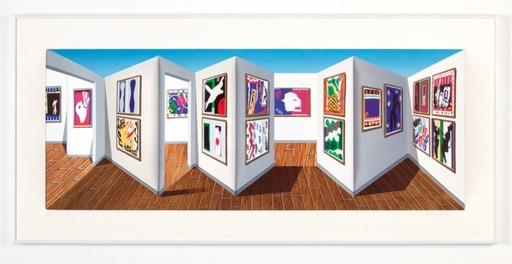 Patrick HUGHES - Print-Multiple - JAZZ