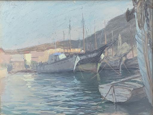 Sergio VATTERONI - Dibujo Acuarela - Isola del Giglio