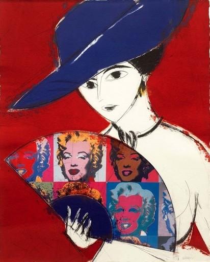 Manolo VALDÉS - Print-Multiple - Pamela I, Warhol