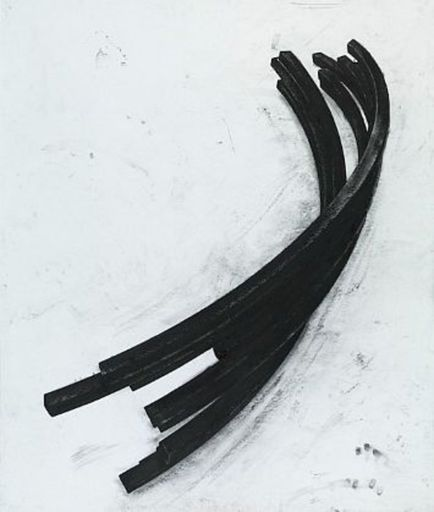 Bernar VENET - Estampe-Multiple - Effondrement: Arcs