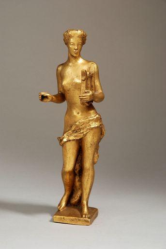Hubert YENCESSE - Skulptur Volumen - MUSE (probablement Érato)