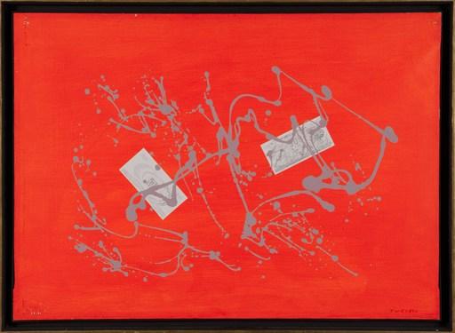 Giulio TURCATO - Pintura - ARCIPELAGO ARANCIO