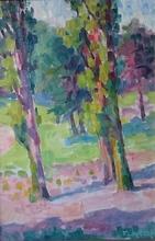 Fernand WERY - Peinture - landschap met bomen