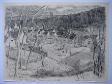 André JACQUEMIN - Print-Multiple - GRAVURE SIGNÉE CRAYON 1976 HANDSIGNED ETCHING FLEURINES