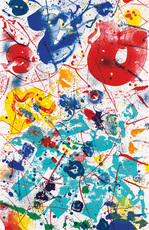 Sam FRANCIS - Stampa Multiplo - Untitled (SF-358)