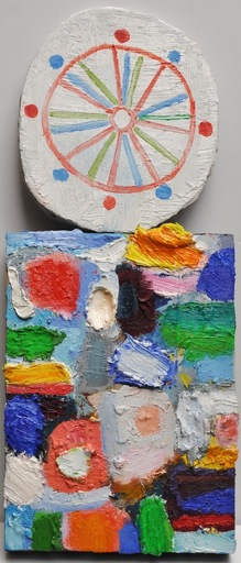 Nicola DE MARIA - Pittura - Testa della primavera