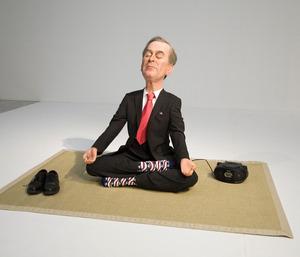 Eugenio MERINO - Sculpture-Volume - Meditación