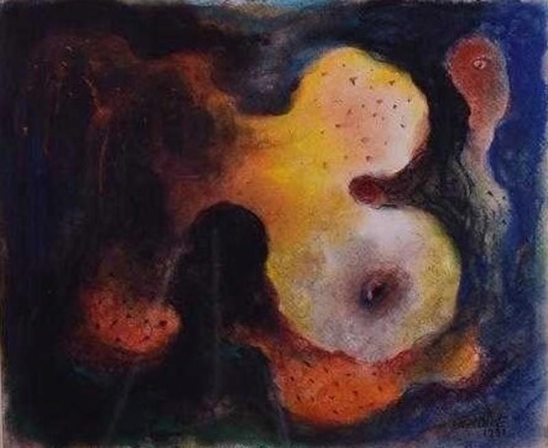 Manuel MENDIVE - Peinture - Abstract