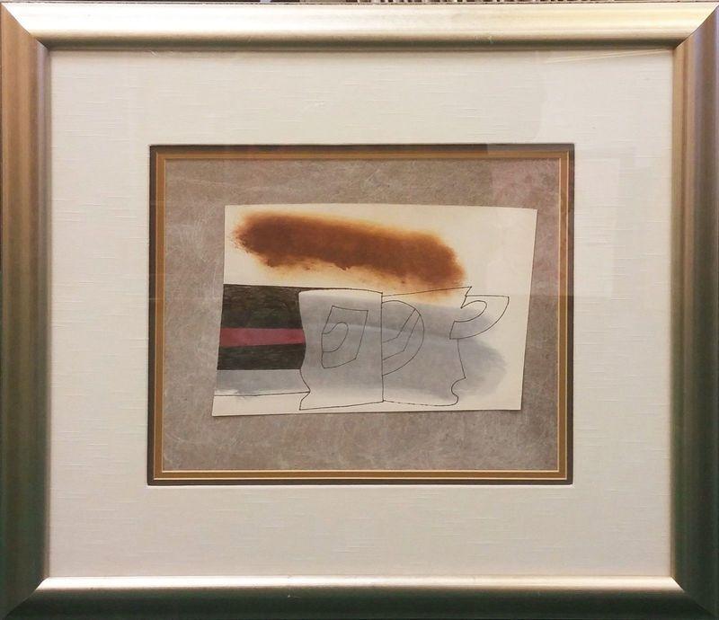Ben NICHOLSON - Pintura - CLOUD MAY 78