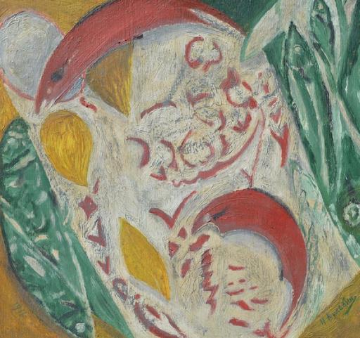 Nicolai Ivanovitch KULBIN - Painting - Abstract