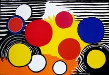 Alexander CALDER - Print-Multiple - Bird's Nets