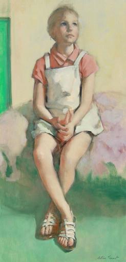 Antoine VINCENT - Gemälde - Les Tropéziennes