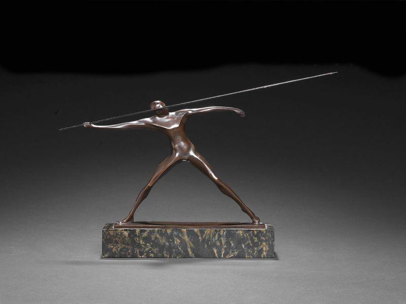 Wilhelm ANDREAS - Sculpture-Volume - Spear Hunter