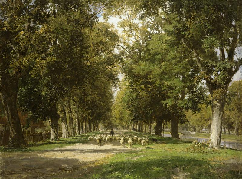 Philipp RÖTH - Pintura - Am Nymphenburger Kanal