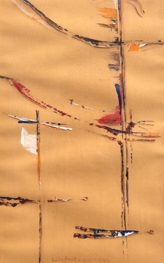 Mamdouh SOLIMAN - Dibujo Acuarela - Abstraction