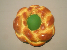 Jeff KOONS - Sculpture-Volume - Bread with Egg (Green)