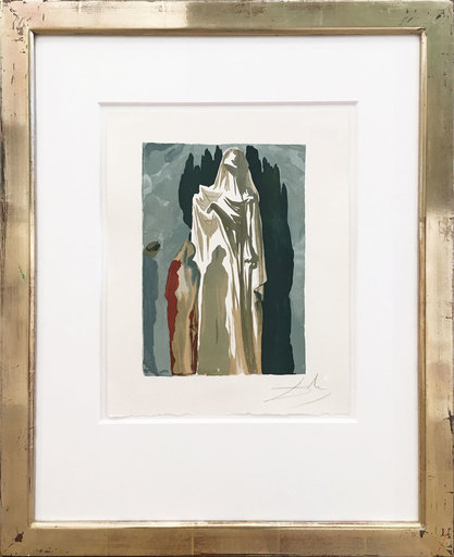 萨尔瓦多·达利 - 版画 - Les Héretiques - Die Ketzer