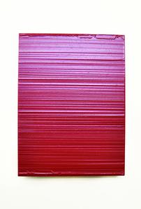 Domenico D'OORA - Gemälde - Red mercury/silver