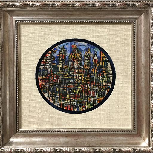 René PORTOCARRERO - Painting - Ciudad