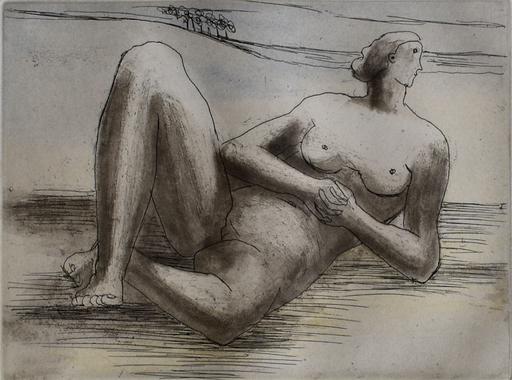 Henry MOORE - Print-Multiple - Reclining Figure VIII