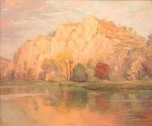 Charles NAILLOD - Peinture - Vaulsort sur Meuse