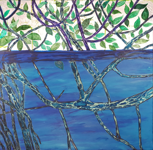 Corine LESCOP - Peinture - Reflets