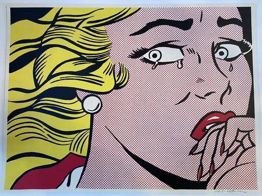 Roy LICHTENSTEIN - Stampa-Multiplo - Crying Girl