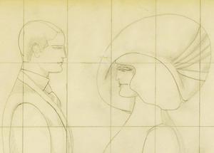 Richard LINDNER - Drawing-Watercolor - Contact