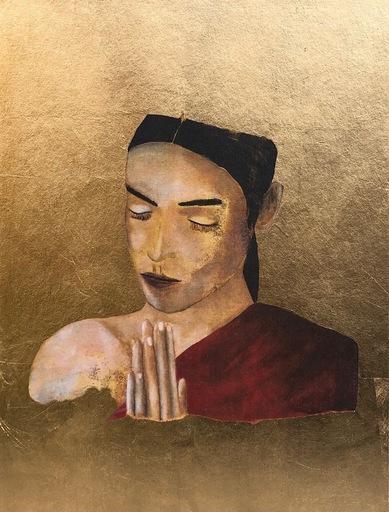 Franco BATTIATO - 版画 - Donna che prega