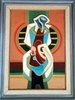 Mordechai ARIELI - Painting - Composition