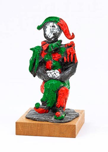 Markus LÜPERTZ - Escultura - Harlekin