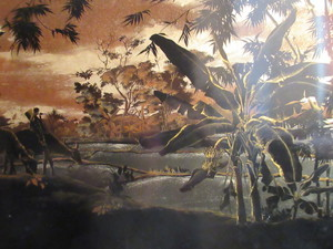 Than Le N'GUYEN - Pintura - Rizières au crépuscule
