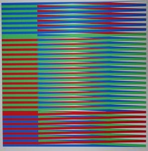Carlos CRUZ-DIEZ - Print-Multiple - Serie Couleur Additive
