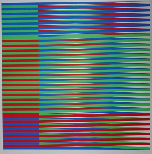 Carlos CRUZ-DIEZ - Estampe-Multiple - Serie Couleur Additive