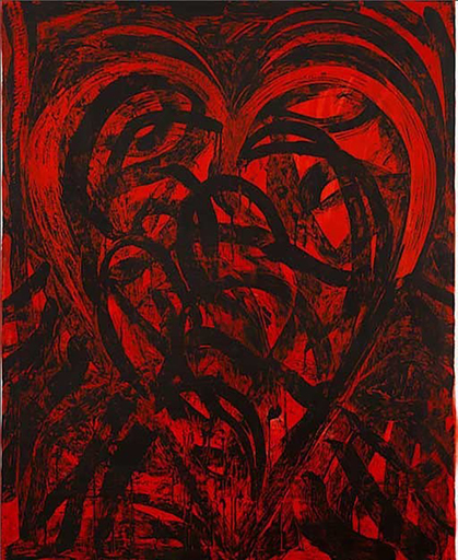 Jim DINE - Stampa-Multiplo - The Red Tallsman,