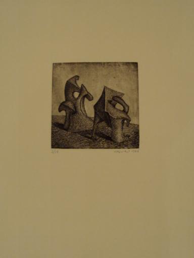 "Didier MAZURU - Stampa Multiplo - ""Cendre 4"""