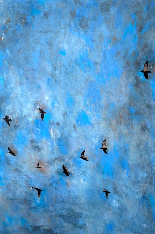Ayline OLUKMAN - Painting - Evo