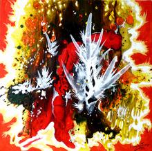 Jacqueline GAGNES-DENEUX - Peinture - TOUT FEU TOUT FLAMME