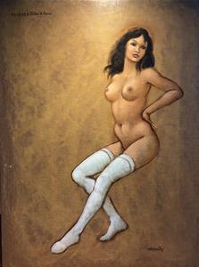 Lorenzo ALESSANDRI - Gemälde - 32° studio di Panna
