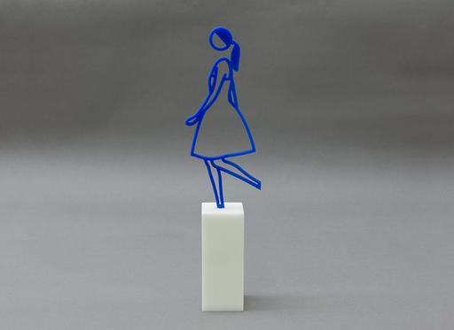 Julian OPIE - Escultura - Amelia