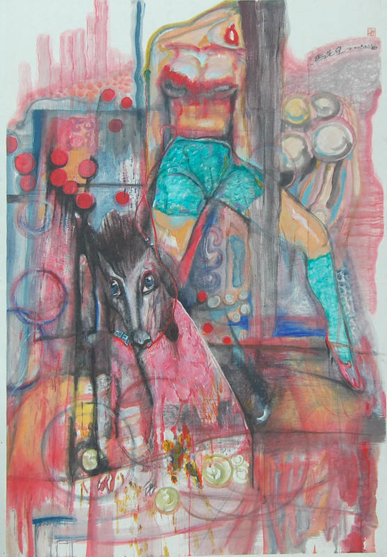 MA Yixing - Peinture - Happy Life