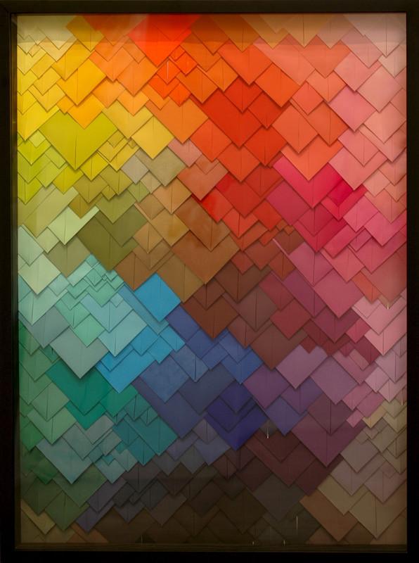 Maud VANTOURS - Sculpture-Volume - Triangles #20