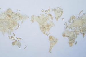 Fernando ALDAY - Pittura - Meditation Map